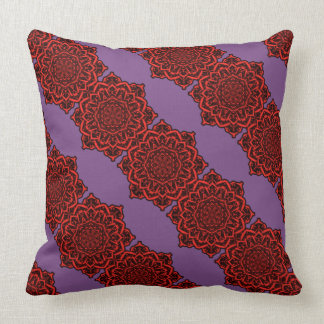 Mandala Flower Pillow 2