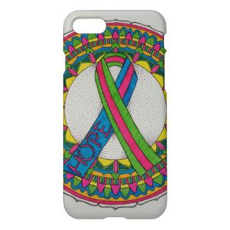 Mandala for Metastatic Breast Cancer Awareness iPhone 7 Case