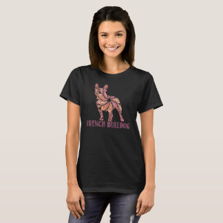 Mandala French Bulldog T-Shirt