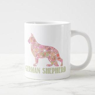 Mandala German Shepherd GSD Coffee Mug