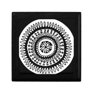 Mandala Small Square Gift Box