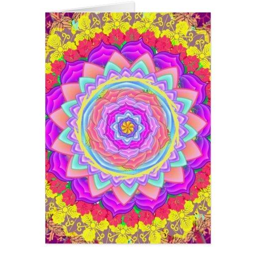 Mandala - greeting card