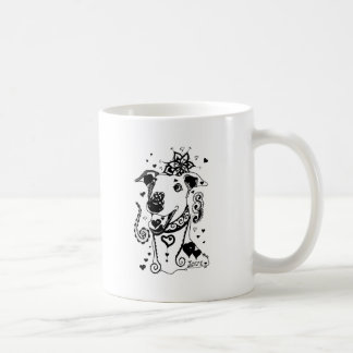 Mandala Greyhound Coffee Mug