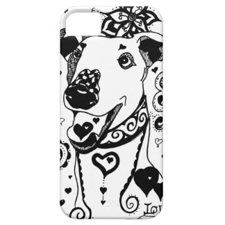 Mandala Greyhound iPhone 5 Cover