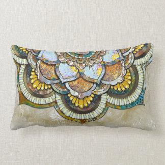 Mandala Happiness Lumbar Cushion