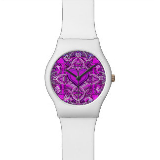 Mandala Heart Watch