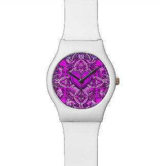 Mandala Heart Wristwatches