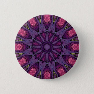 Mandala 'Hippie' 6 Cm Round Badge
