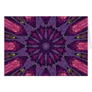 Mandala 'Hippie' Card