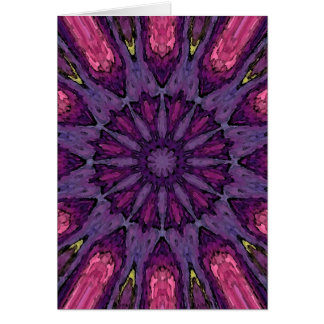 Mandala 'Hippie' Card