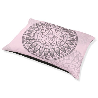 Mandala in Pink Pet Bed