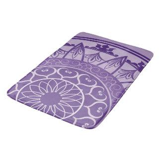 Mandala in Purple Bath Mat