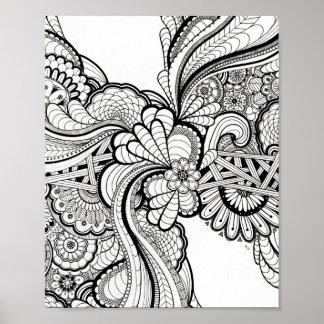 Mandala Inspired Designs Art Poster