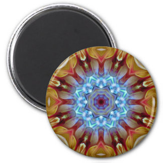 Mandala 'Jaipur' 6 Cm Round Magnet