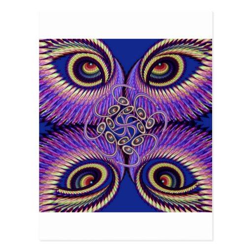 Mandala Kundalini Post Cards