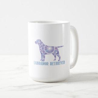 Mandala Labrador Retriever Coffee Mug