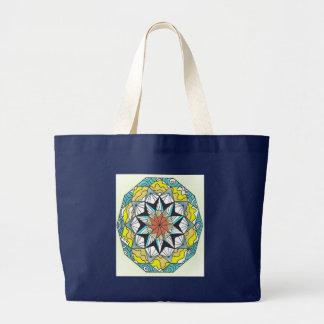 Mandala Large Tote Bag