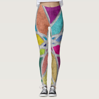 Mandala Leggings for Yoga and Pilates