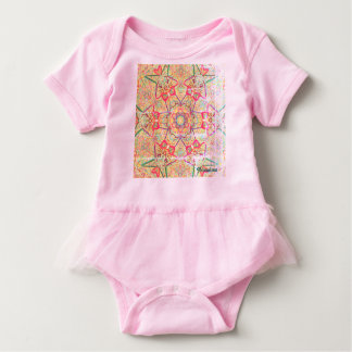 "Mandala ""Lolita"" Tutu by MAR  from Thleudron Baby Bodysuit"