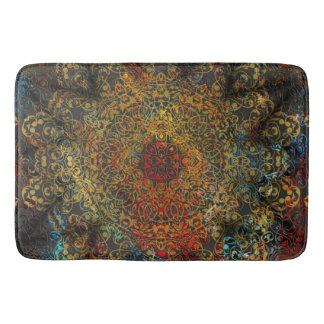 mandala love bath mat
