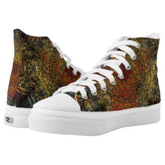mandala love high tops