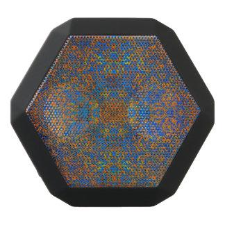 mandala magic blue black bluetooth speaker