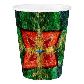 Mandala Magik Custom Paper Cup, 266 ml