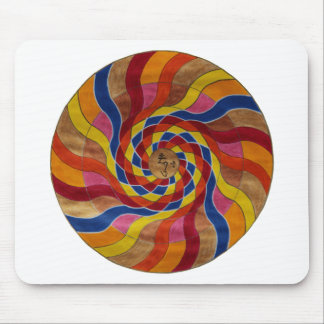 "Mandala mantra ""COM mani peme hung "" Mouse Pad"