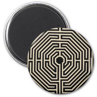 mandala maze magnet