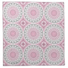 Mandala Medallion in Mauve, Pink and Grey Napkin