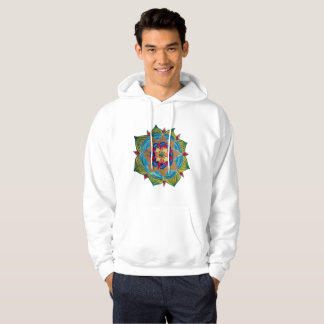 Mandala Men's Basic Hooded Sweatshirt