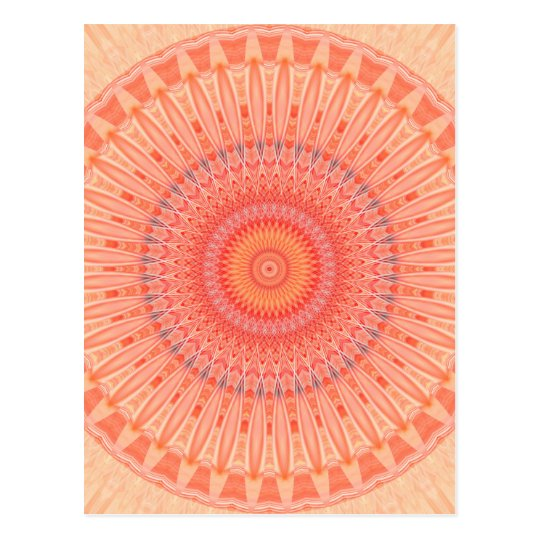 Mandala mental health created by Tutti Postcard