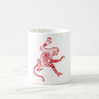 Mandala monkey Mug