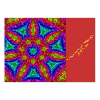 Mandala Mosaic Business Card Template