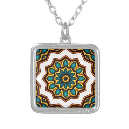Mandala motive jewelry