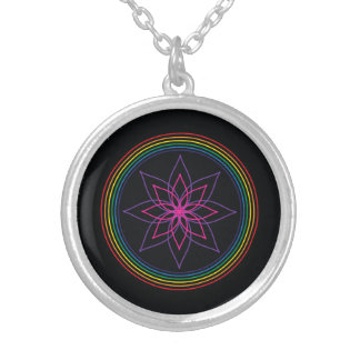 Mandala Necklace - Chakra Flower