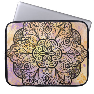 Mandala Neoprene Laptop Sleeve 15 inch