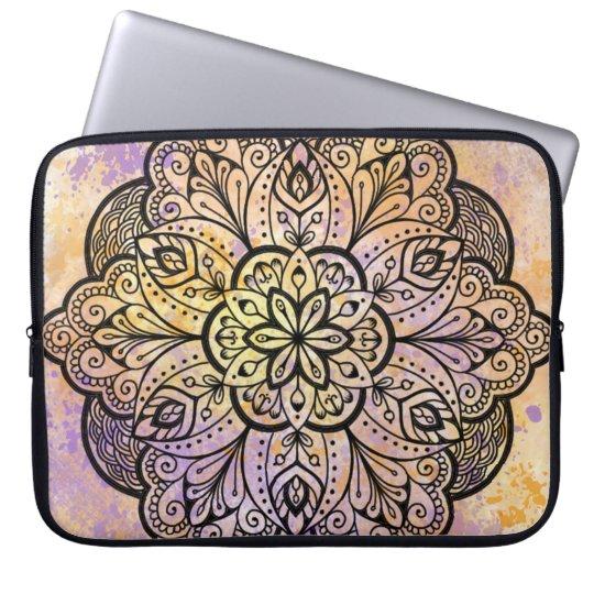 Mandala Neoprene Laptop Sleeve 15 inch