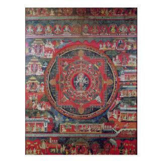 Mandala of Amoghapasa Postcard