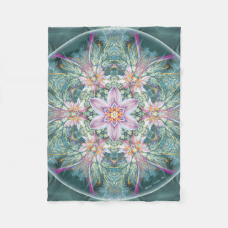 Mandala of Forgiveness & Release 28 Fleece Blanket