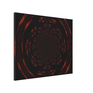 Mandala of Gold and Black 2 C1 SDL Stretched Canvas Prints