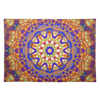 Mandala Of Life Considered Placemat
