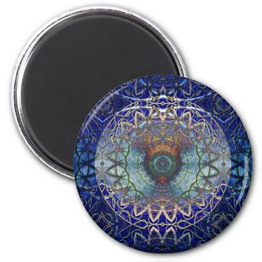 Mandala of the Noedic Web  Magnet