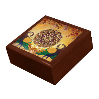 Mandala Of The Two Peacocks Gift Box