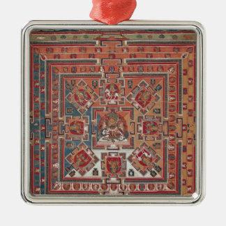 Mandala of Vaishravana Christmas Ornament