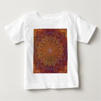 mandala orange baby T-Shirt