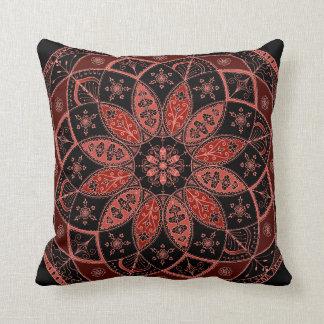 Mandala Oriental Art Pattern Design Autumn pillow