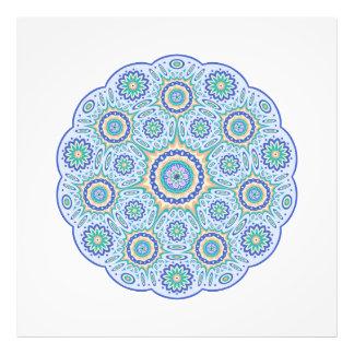 Mandala ornament photo print