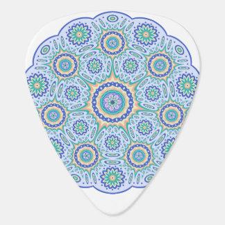 Mandala ornament plectrum