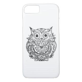 Mandala Owl Case